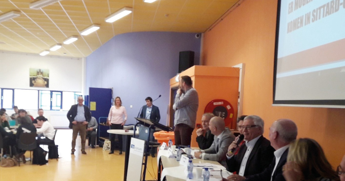 Verkiezingsdebat-Trevianum-Sittard