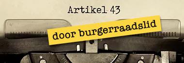 artikel 43 burgerraadslid