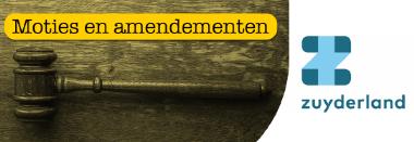 Moties en amendementen Zuyderland