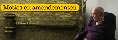 Moties en amendementen Senioren